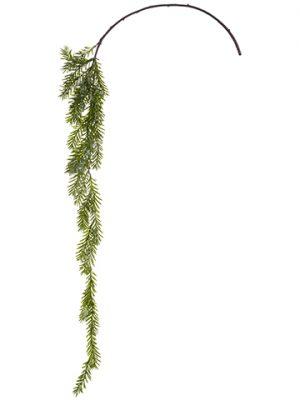 """54"""" Iced Pine Spray Green Iced"""