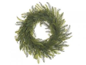 "22"" Pine Wreath Green"