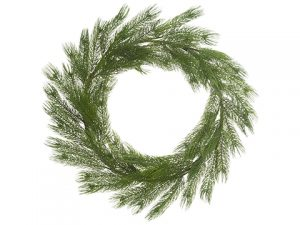 "34"" Pine Wreath Green"