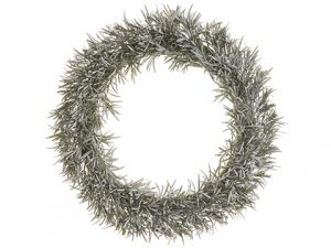 "20"" Pine Wreath Gray Green"