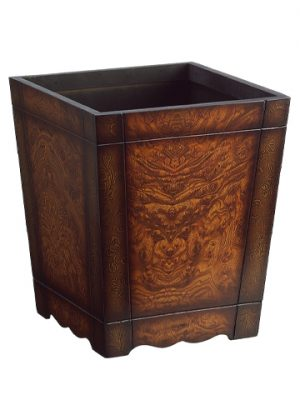 "13.25""H x 11.25""W x 11.25""L Wood Container"