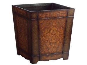 "16.5""H x 15""W x 15""L Wood Container"
