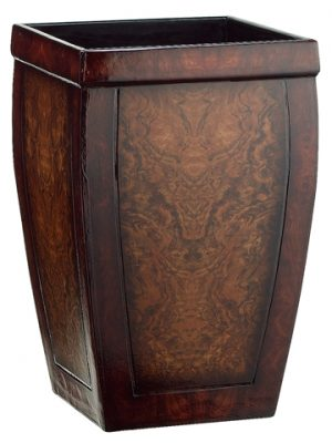 "18.75""H x 11.5""W x 11.5""L Wood Container"