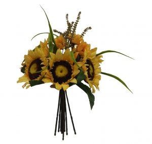 """12""""Hx9""""W Sunflower Bouquet"""