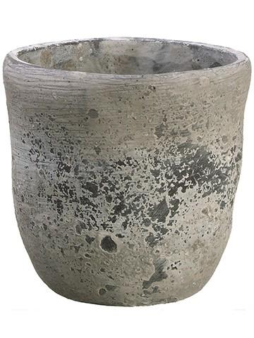 """6""""H x 6""""D Cement Planter Stone"""
