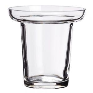 """3.75""""H x 3.88""""D GlassCandleholder"""