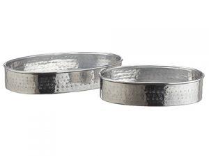 """13.5""""L-17.5""""L Aluminum Plate(2 Ea/set)Silver"""