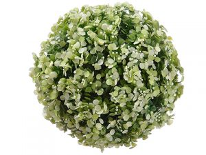 "5"" Mini Blossom Orb Light Green"