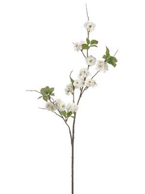 """52"""" Cherry Blossom Spray White"""