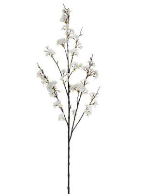 """51"""" Cherry Blossom Spray White"""