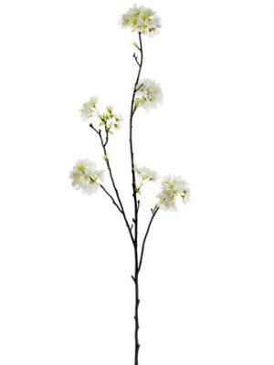 """42.5"""" Cherry Blossom Spray White"""