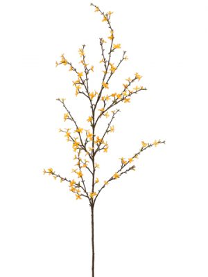 "61"" Forsythia Spray Yellow"