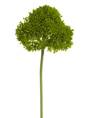 "15"" Soft Plastic Sedum Spray Green"