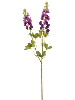 """24"""" Lupinus Spray x2 Purple"""