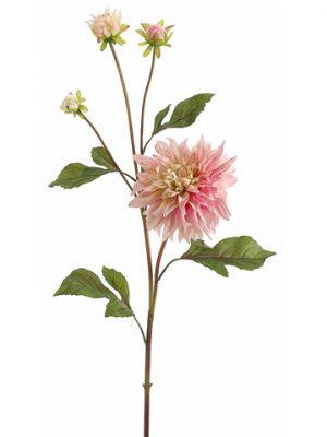 """37"""" Garden Dahlia Spray Blush"""