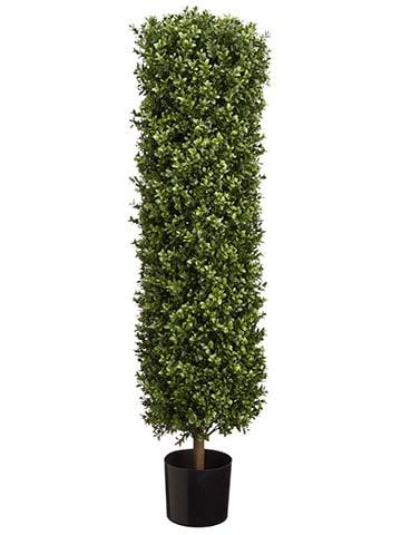 """41.25"""" Round Boxwood Topiaryin PotGreen"""