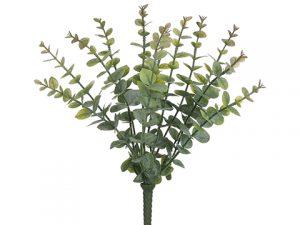 "15"" Soft PE Eucalyptus Bushx12Green"