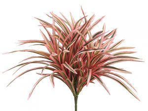 "12"" Small Dracaena Bush with 93 Leaves Pink"