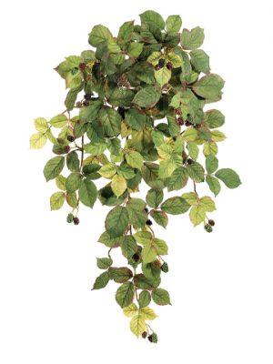 "28"" Raspberry Hanging Bush x7with BerriesFall"