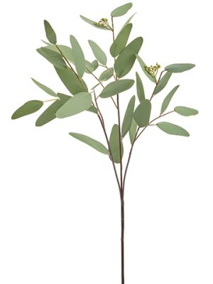 "31"" Eucalyptus Leaf Spray Green Gray"