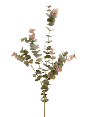 "47"" Eucalyptus Spray x7 Green Burgundy"