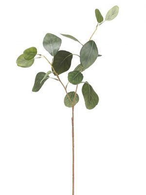 "18"" Eucalyptus Leaf Spray Green"