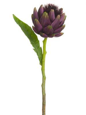 "24"" Artichoke Spray Eggplant Eggplant"