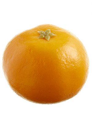 "1.8""H x 2.2""W x 2.2""L Tangerine Orange"