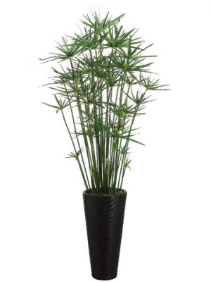 """84""""H x 28""""W x 28""""L Cypress Grassin Bamboo ContainerGreen"""