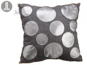 """16""""W x 16""""L Pillow Silver Gray"""