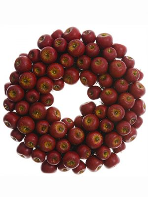 "15"" Crabapple Wreath Red"