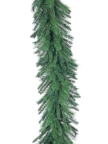 "9'Lx24""W Mixed Pine Garlandx300Green"