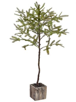 "52"" Spruce Pine Tree Branch in Pot Green"