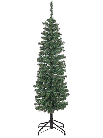 "5'Hx16""D Tower Tree x268 on Metal Stand Green"