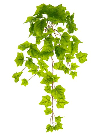 "22"" One-Piece Ivy Bush With 78 Leaves Light Green"