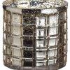 """4.5""""H x 5""""D Vase Candleholder Gold"""