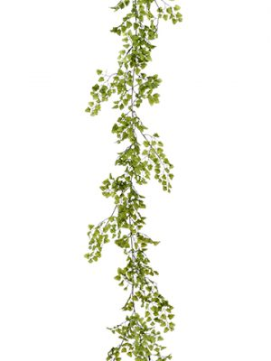 6' Maidenhair Fern Garland Green