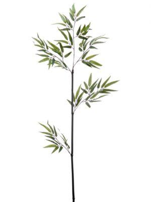 "38"" Black Bamboo Stem w/90LeavesGreen"