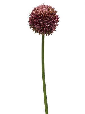 """21.5"""" Allium Spray Violet"""