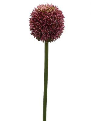 """25.5"""" Allium Spray Violet"""