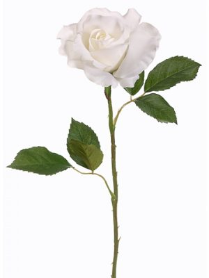 "22"" Rose Bud Spray Cream"