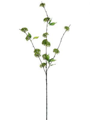 """46"""" Verbena Blossom Spray Green"""