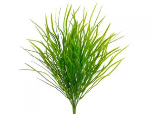 "18"" Wild Willow Grass Bush with 204 Leaves Green Light"