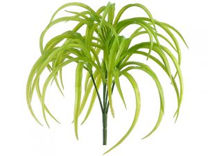 "10"" Soft PE Rain Tree Grass Bush Green"