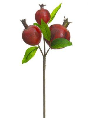 "13"" Pomegranate Pick Red Burgundy"