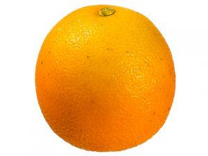 """2.5"""" Weighted Tangerine Orange"""