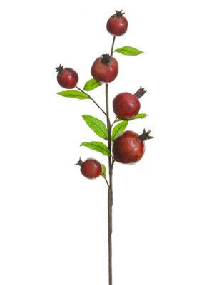 """31"""" Pomegranate Spray Red Burgundy"""