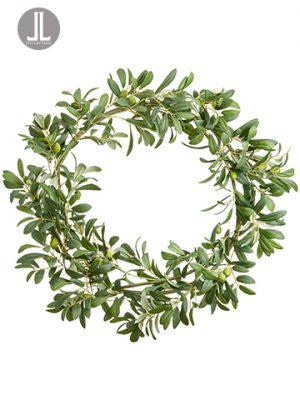 "28"" Olive Wreath Green"