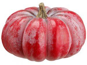 """8""""H x 12""""D Pumpkin Red"""