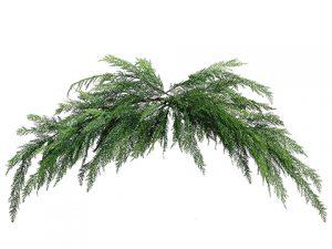 6' Cedar Mantel Swag Garland Green